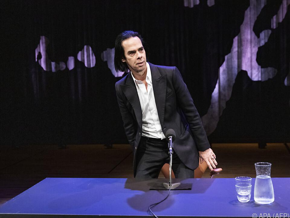 Rockmusiker Nick Cave war im Lockdown produktiv