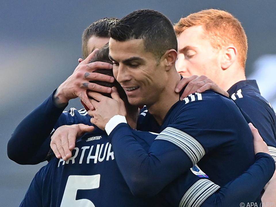 Ronaldo jubelte mit Juventus über Sieg gegen Bologna