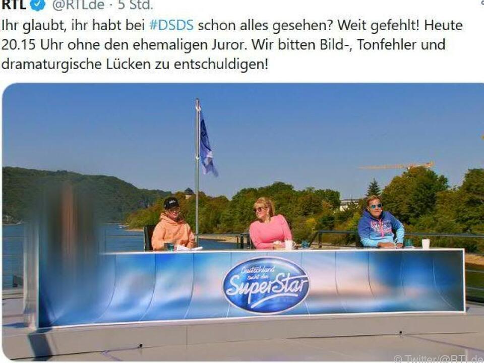 RTL-Tweet zeigt \