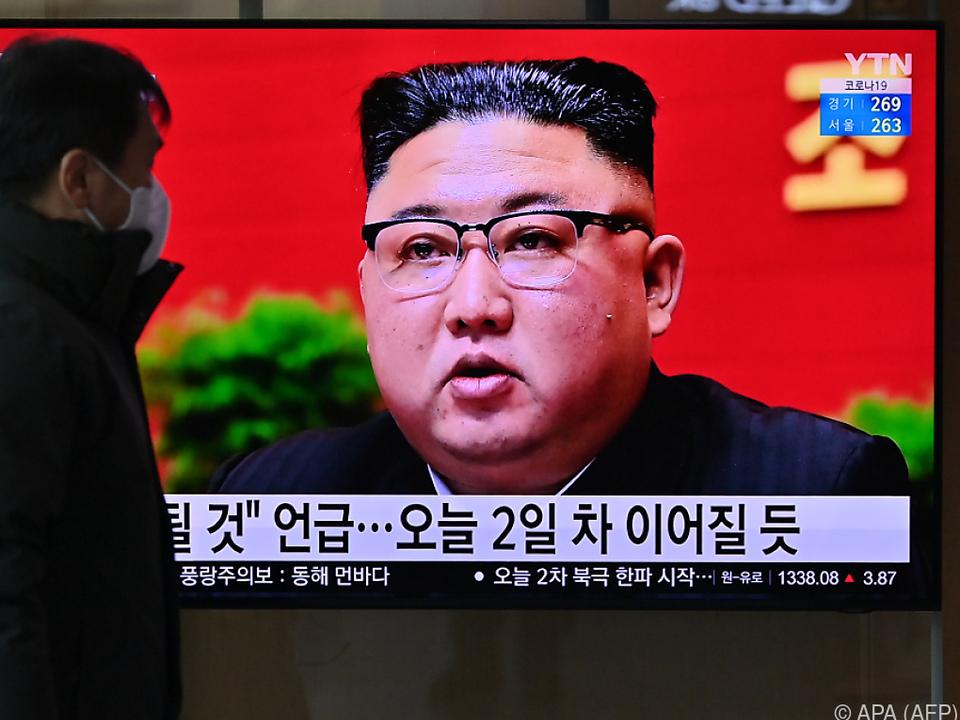Kim lobte in seiner Eröffnungsrede die Arbeiter des Landes