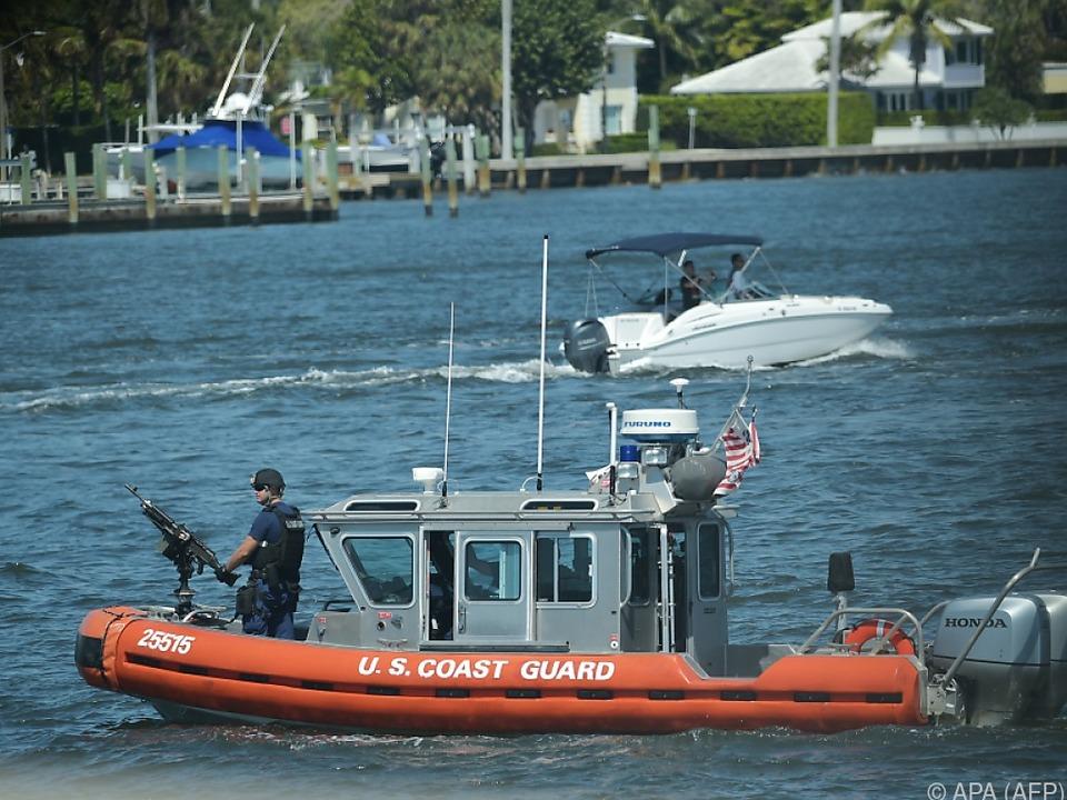 Schiff der US-Küstenwache in Lake Worth (Archivbild)