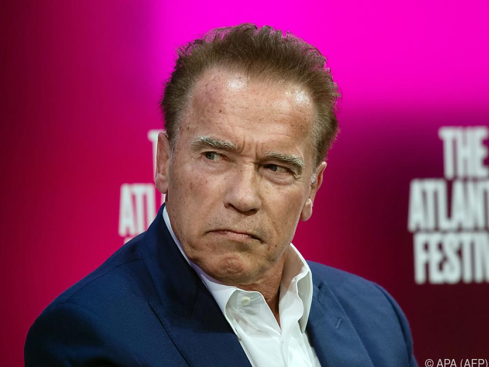 Schwarzenegger kündigte an: \