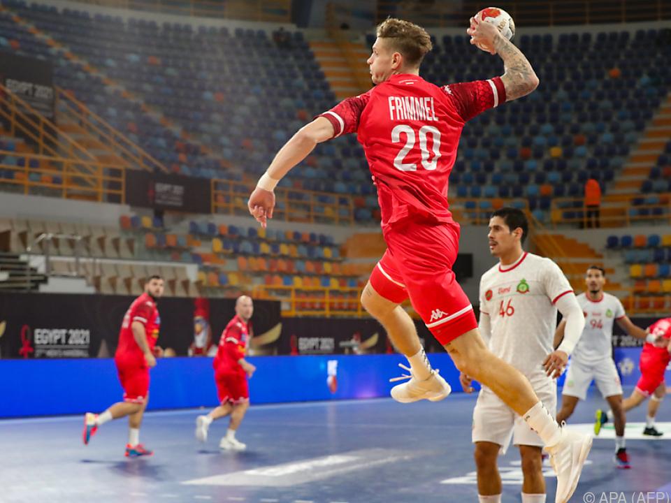 Sebastian Frimmel erzielte gegen Marokko neun Tore