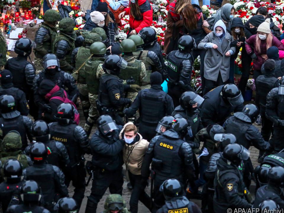 Seit Monaten Proteste in Weißrussland