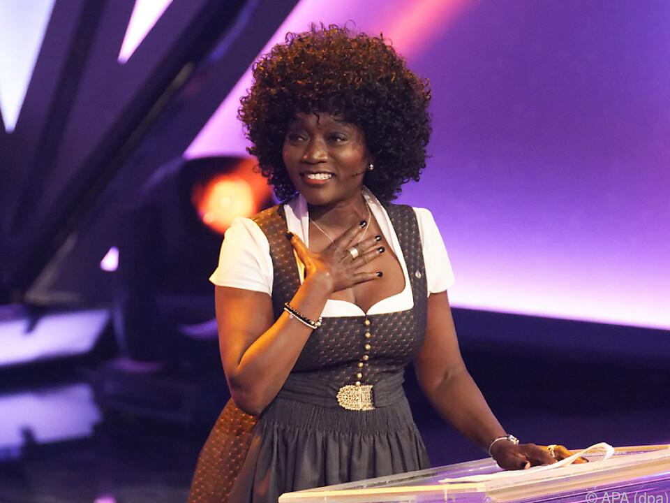 Soziologin und Journalistin Auma Obama ist bei RTL-Tanzshow dabei