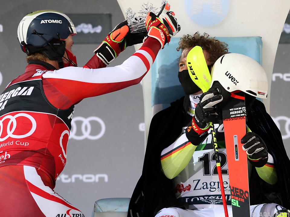 Feller krönte zuletzt im Zagreb-Slalom Straßer