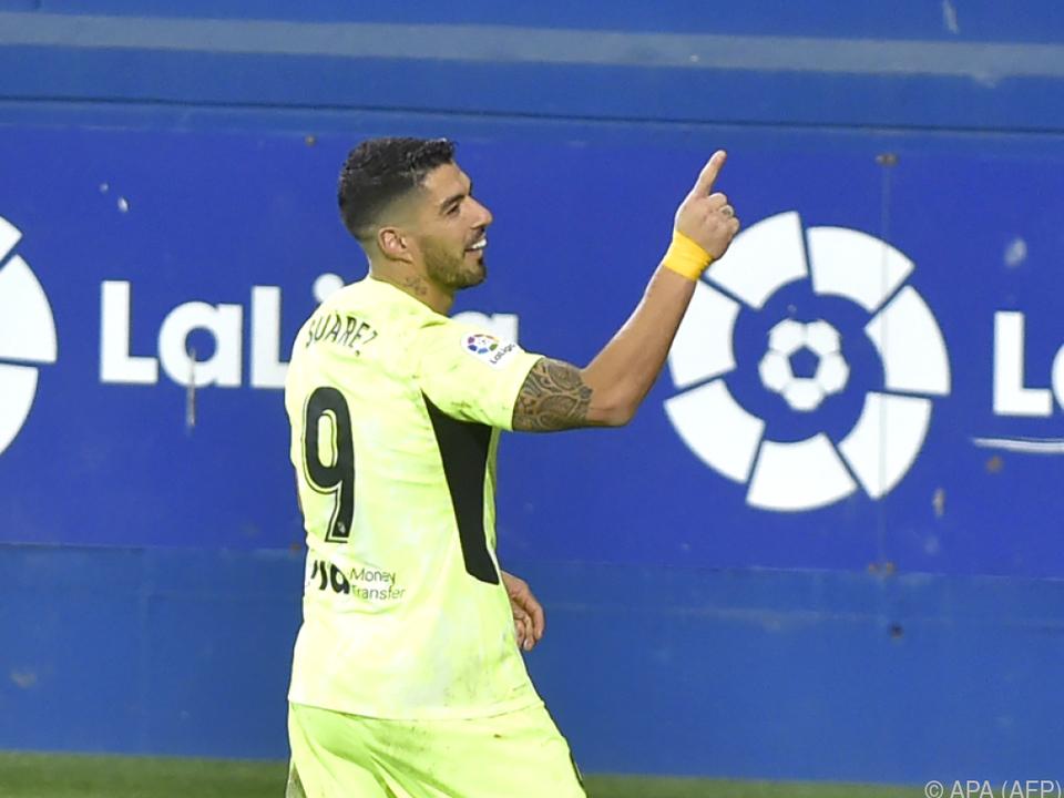 Suarez schoss Atletico zum Sieg