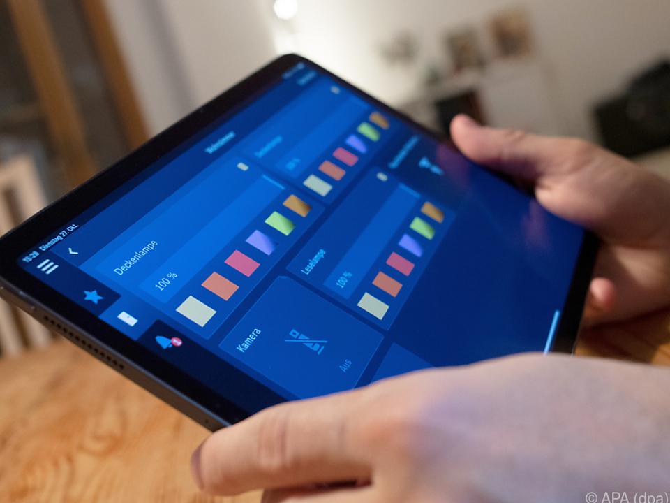 Tablets eignen sich bestens als Steuerzentrale fürs Smart Home