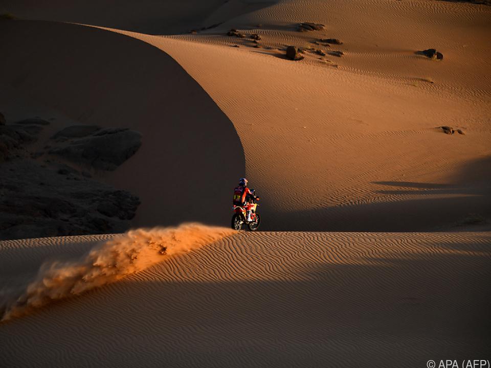 Toby Price holt bei der Rallye Dakar am Dienstag den Etappensieg