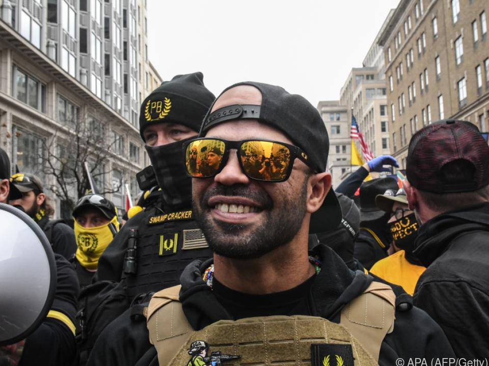 Tarrio wurde wegen Sachbeschädigung festgenommen