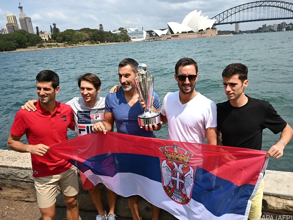 Novak Djokovic führt Titelverteidiger Serbien beim ATP Cup an