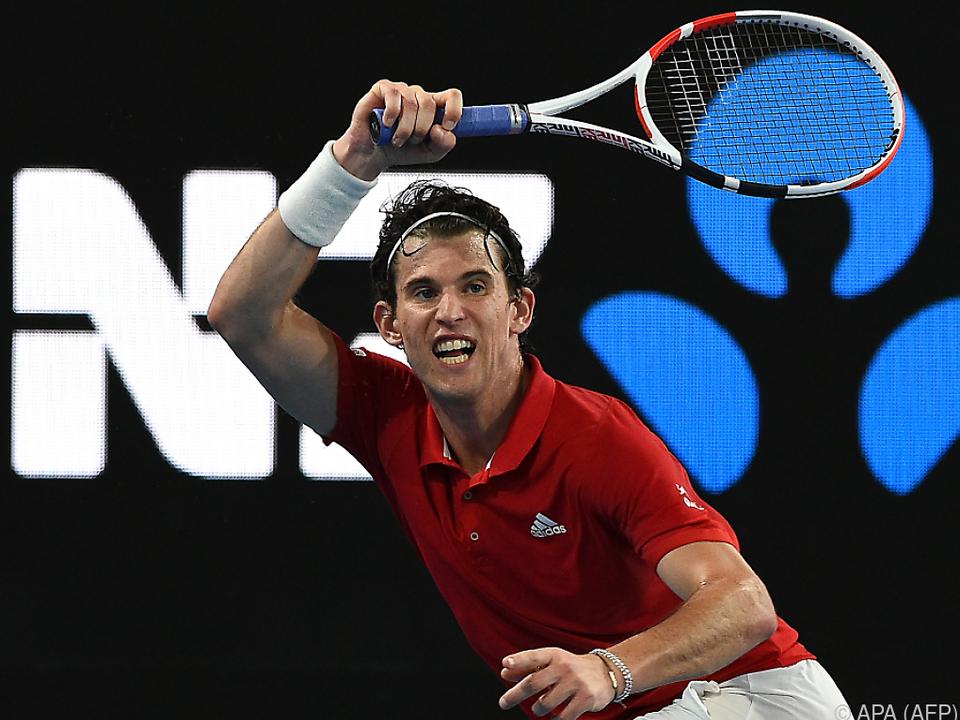Thiem startete mit einer Exhibition gegen Nadal in das Tennisjahr