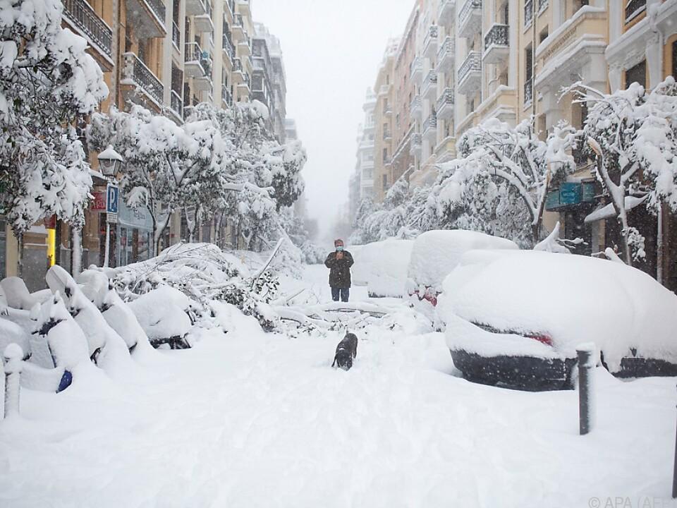 Ein aktuelles Bild aus der spanischen Hauptstadt
