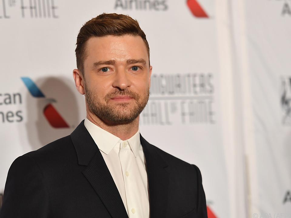 Timberlake feiert einen runden Geburtstag