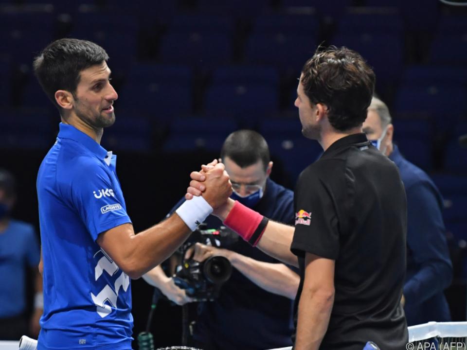 Dominic Thiem und Novak Djokovic verbringen die Quarantäne in Adelaide