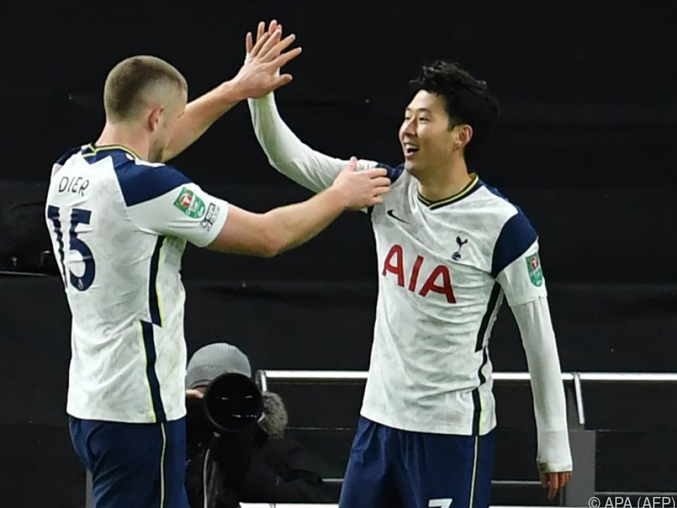 Tottenham-Star Son bejubelt Tor