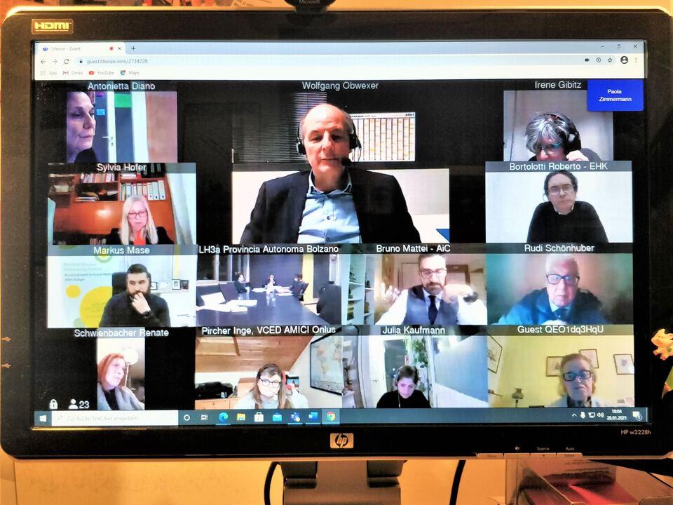 Treffen Patientenorganisationen mit LR Widmann