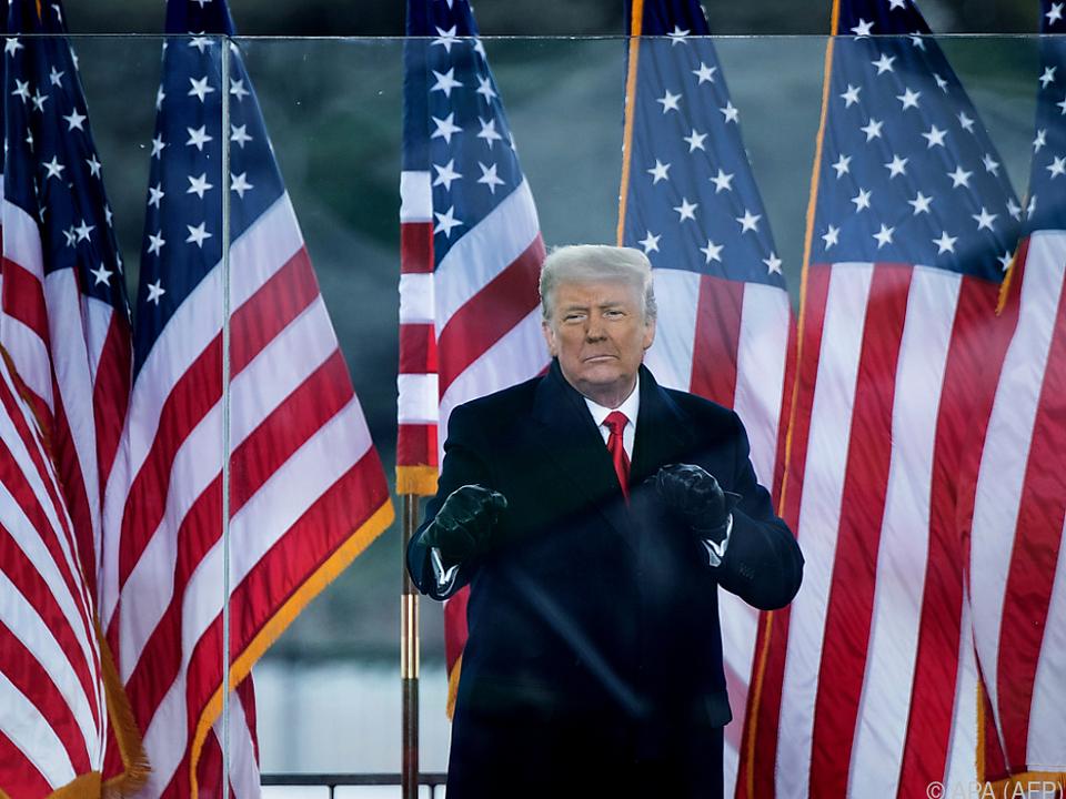 Trump muss sich erneut einem Impeachment-Verfahren stellen.
