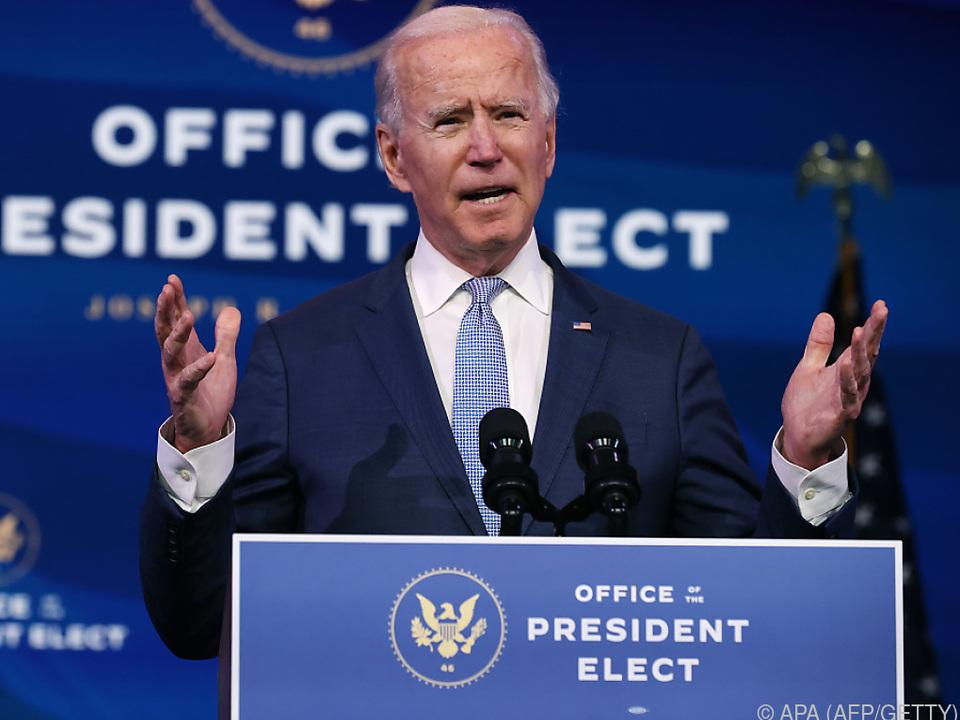 Trump sicherte seinem Nachfolger Biden eine ordentliche Übergabe zu