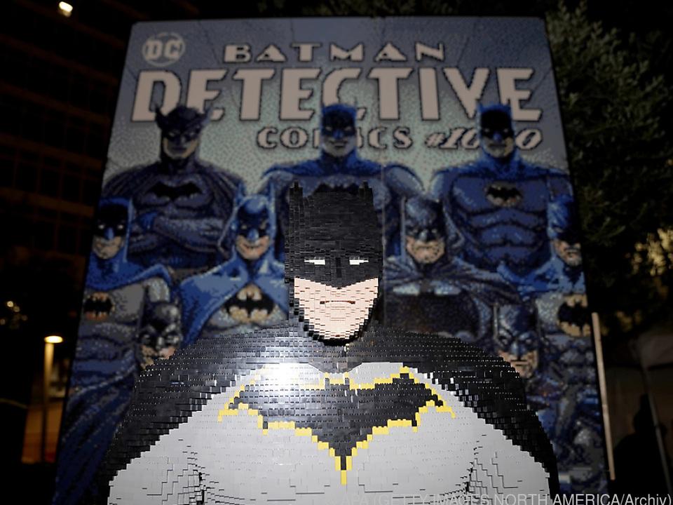 Batman lässt sich auch aus Lego-Steinen zusammenbauen