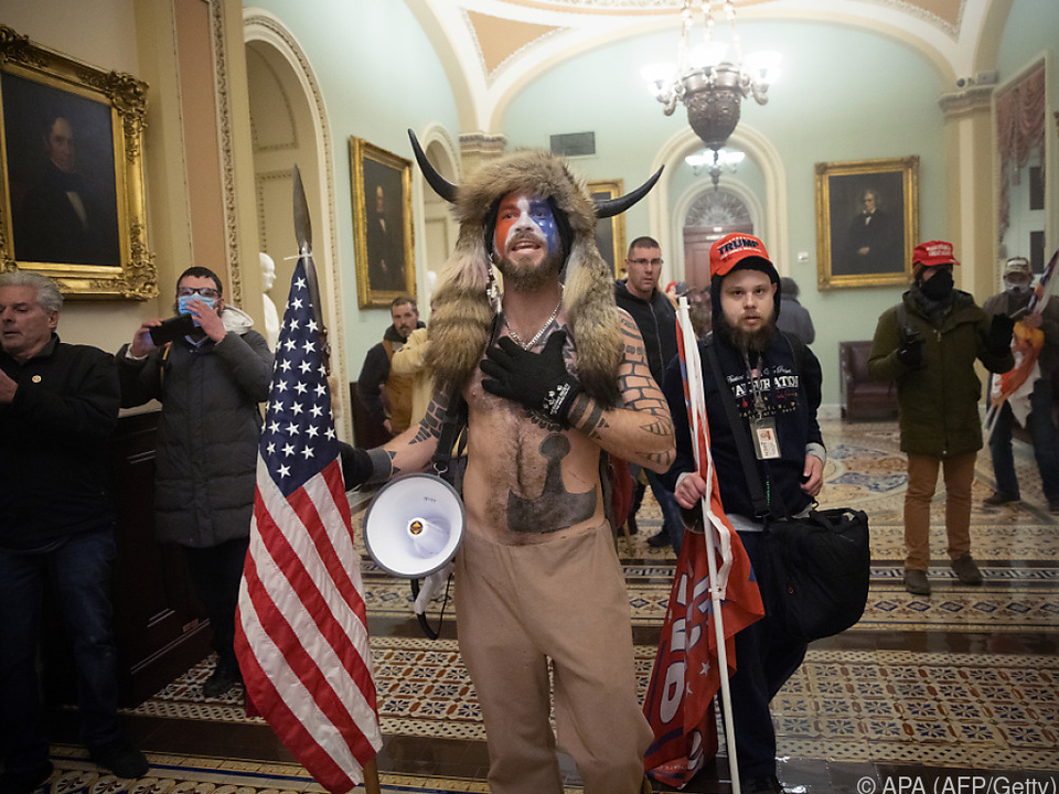 Unfassbare Szenen im US-Parlament