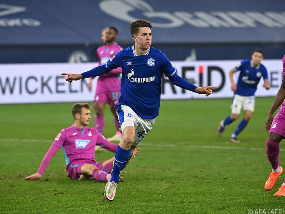 Hoppe erzielte drei Tore für Schalke gegen Hoffenheim