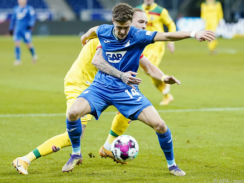 United hat ein Auge auf Hoffenheims Christoph Baumgartner geworfen