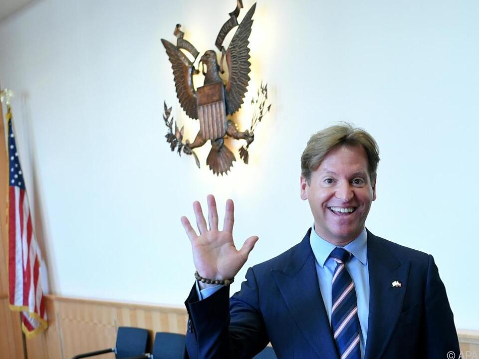US-Botschafter Traina bei seinem Abschiedsinterview