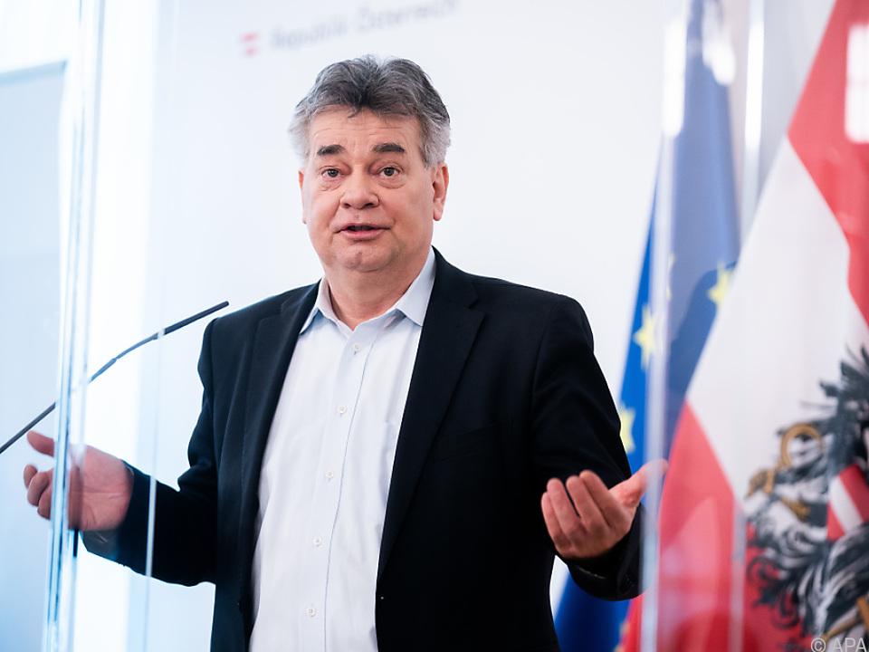 Vizekanzler Kogler mit deutlicher Kritik am Innenminister