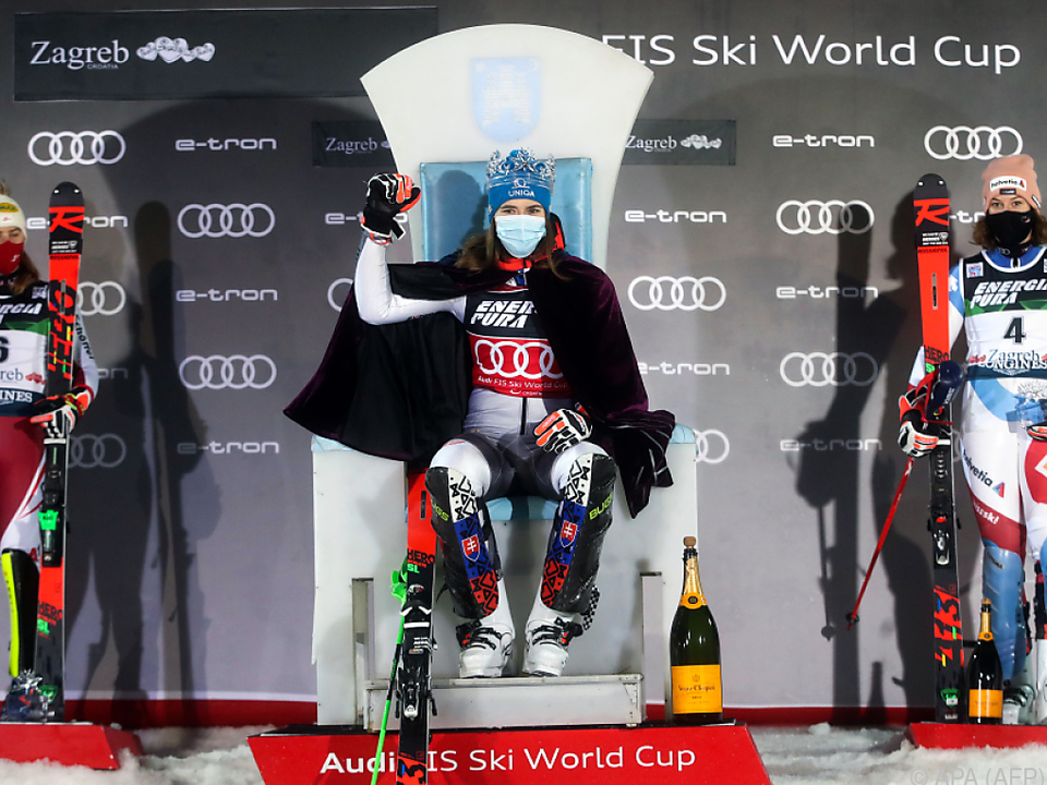 Noch ist Petra Vlhova die Slalom-Königin