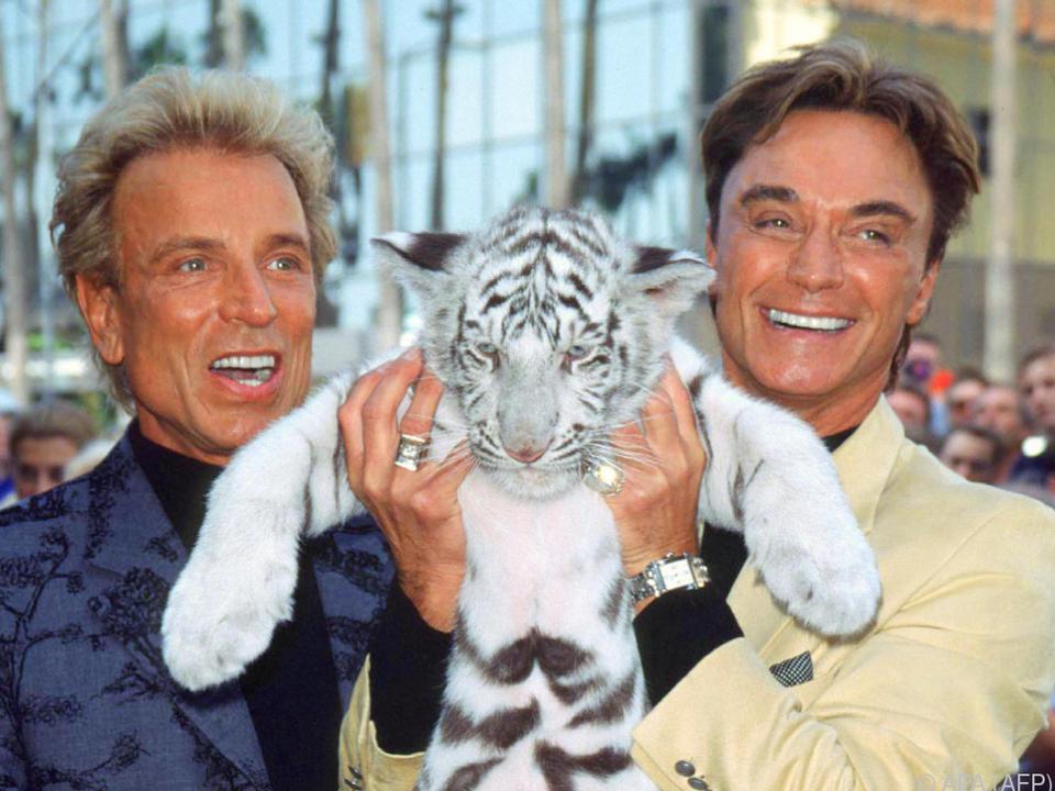 Vor knapp einem Jahr starb Roy, nun Siegfried (links)