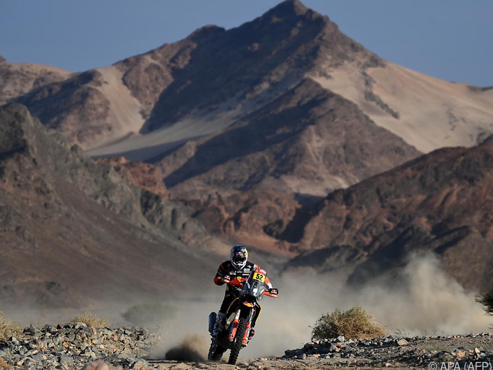Walkner arbeitete sich bei Dakar noch auf Endrang 10 vor