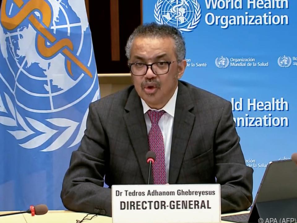 WHO-Chef warnt vor katastrophalem moralischen Versagen