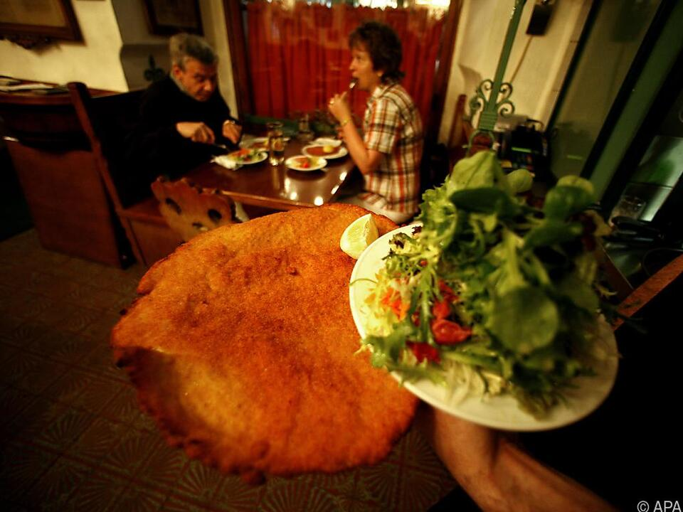 Wiener Schnitzerl: Im Idealfall vom Austro-Kalb oder -Schwein