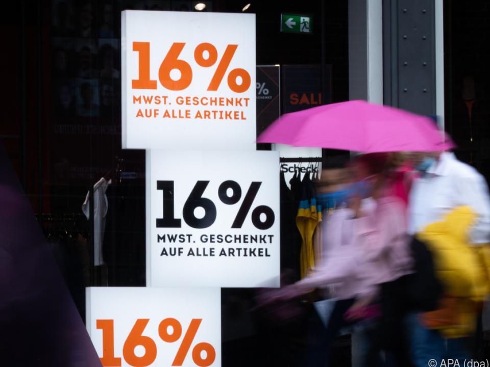 Mehrwertsteuer-Senkung in Deutschland war ein Flop