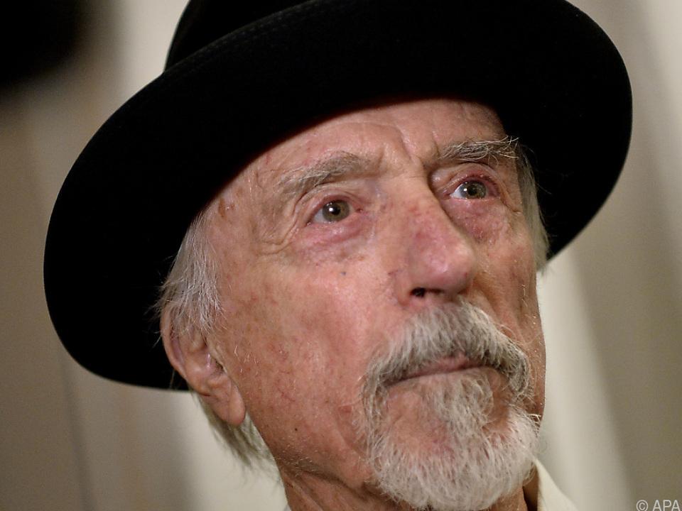 Wurde 92 Jahre als: Arik Brauer (hier 2018)