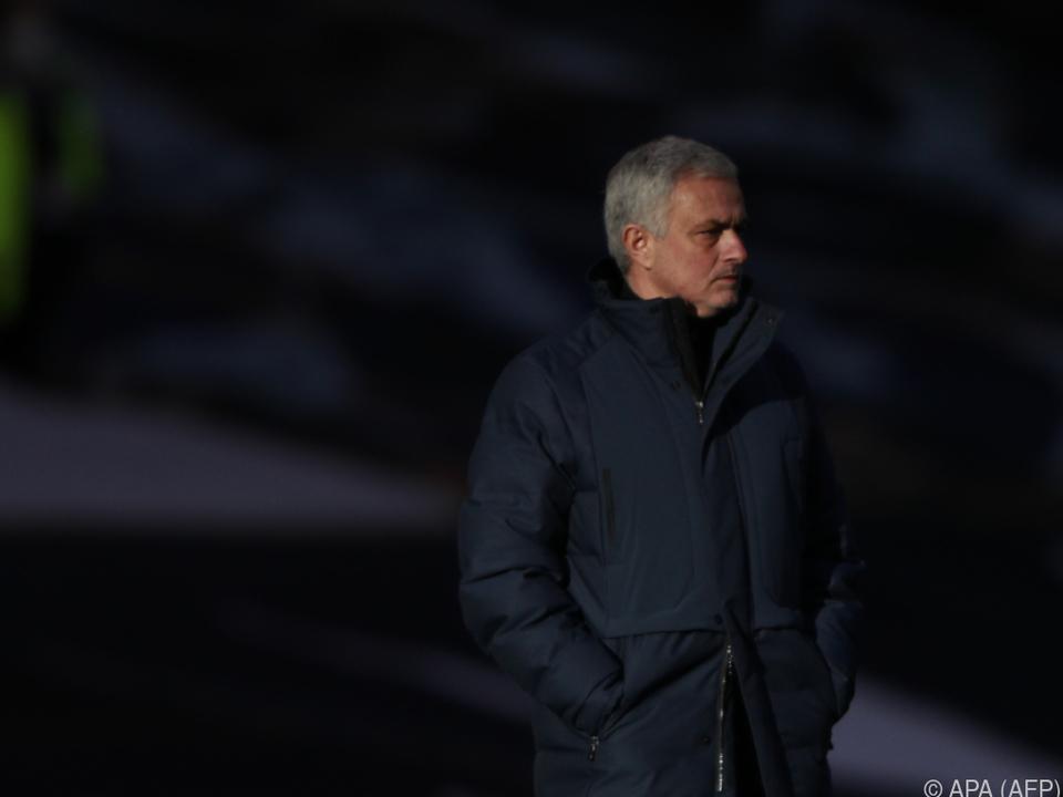 Tottenham-Coach Mourinho ist sauer