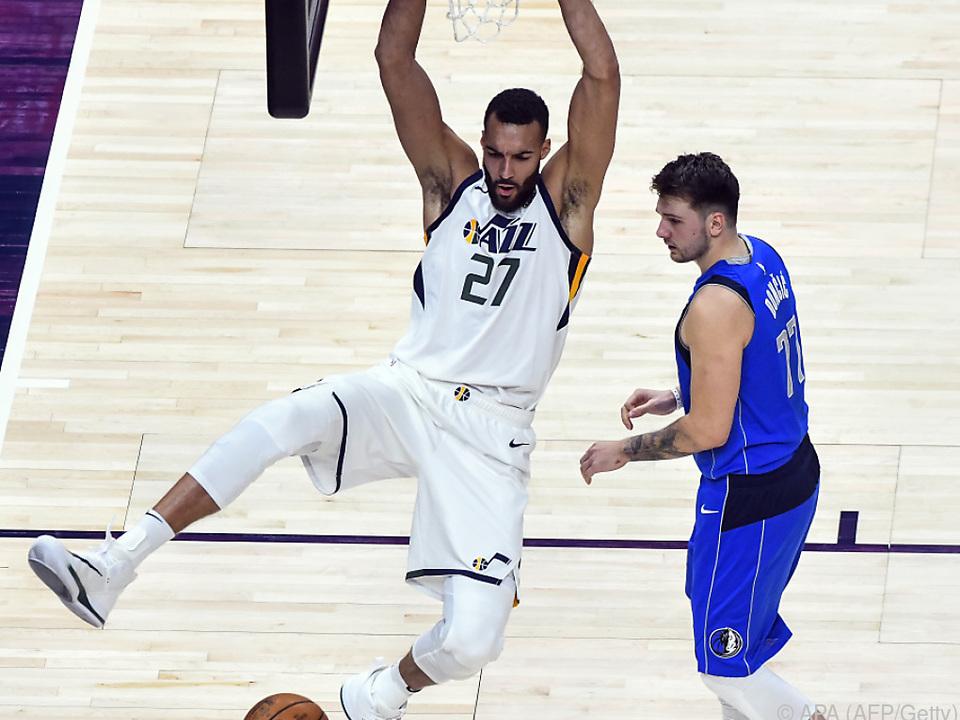 Zehnter Sieg in Serie für Rudy Gobert und Utah Jazz in der NBA