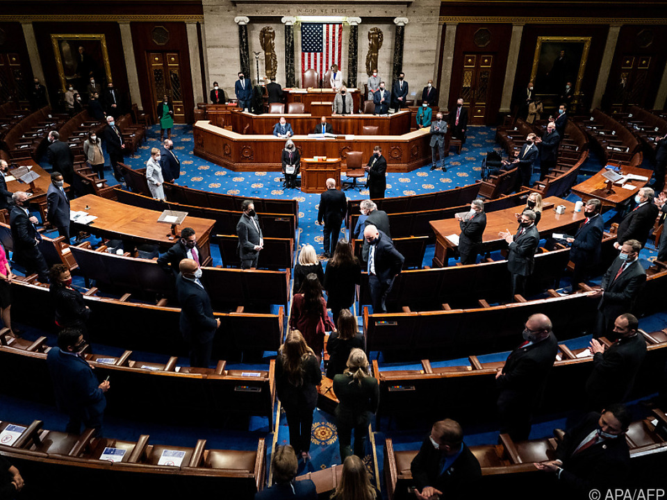 Resolution für Trump-Impeachment im US-Kongress eingebracht