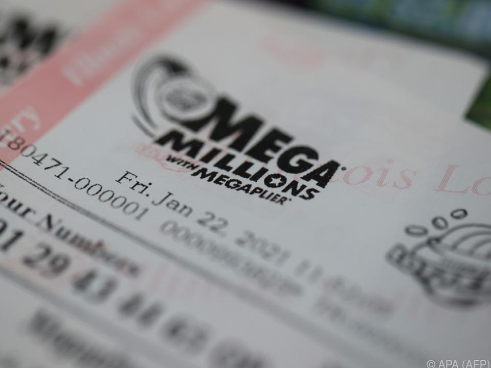 Zweitgrößter Jackpot in der Geschichte von Mega Millions