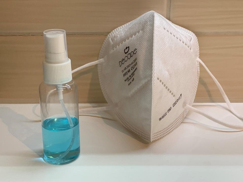 ffp2 Maske corona hygiene desinfizieren