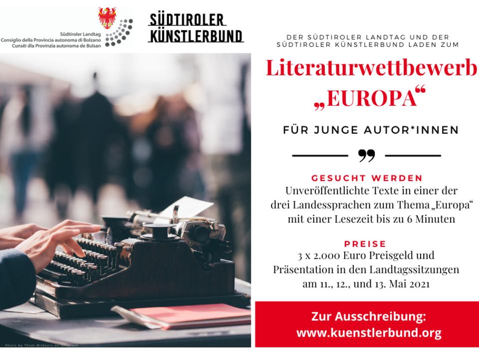 1097487_Literaturwettbewerb_EUROPA