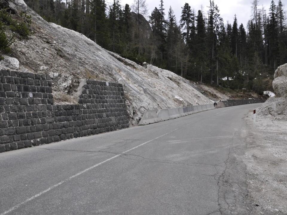 Die Planungen für Eingriffe auf der Verkehrsverbindung St. Kassian-Cortina können starten. (1098440_LSKassianValparola1