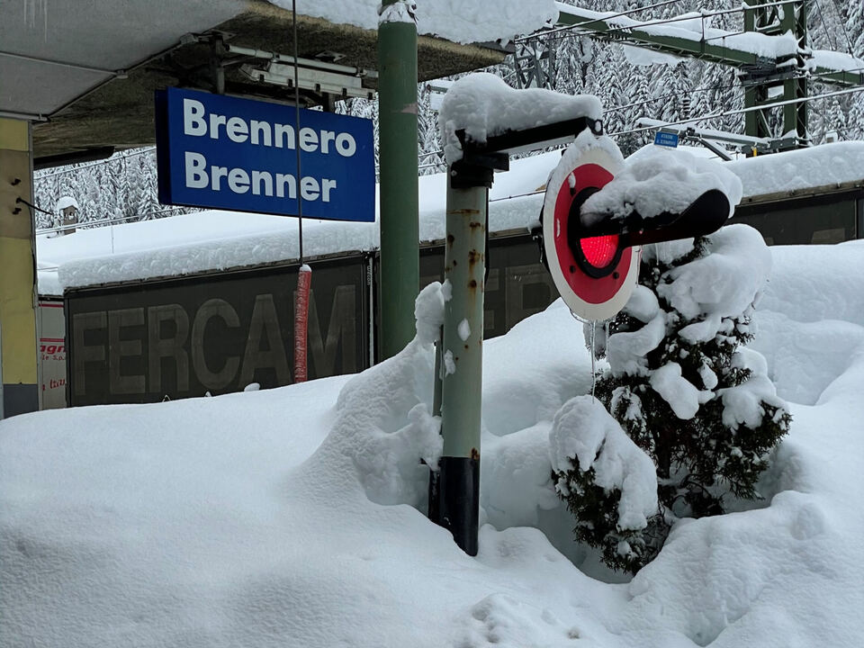 Brenner Winter Schnee