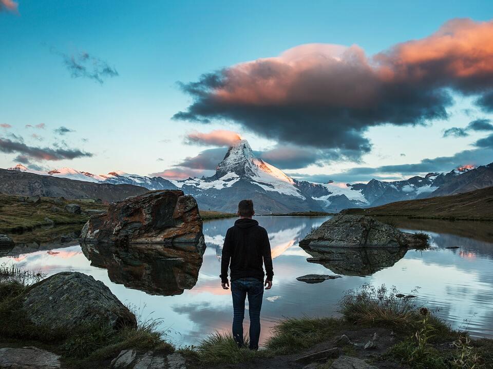 Jugend Natur Alpen Berge