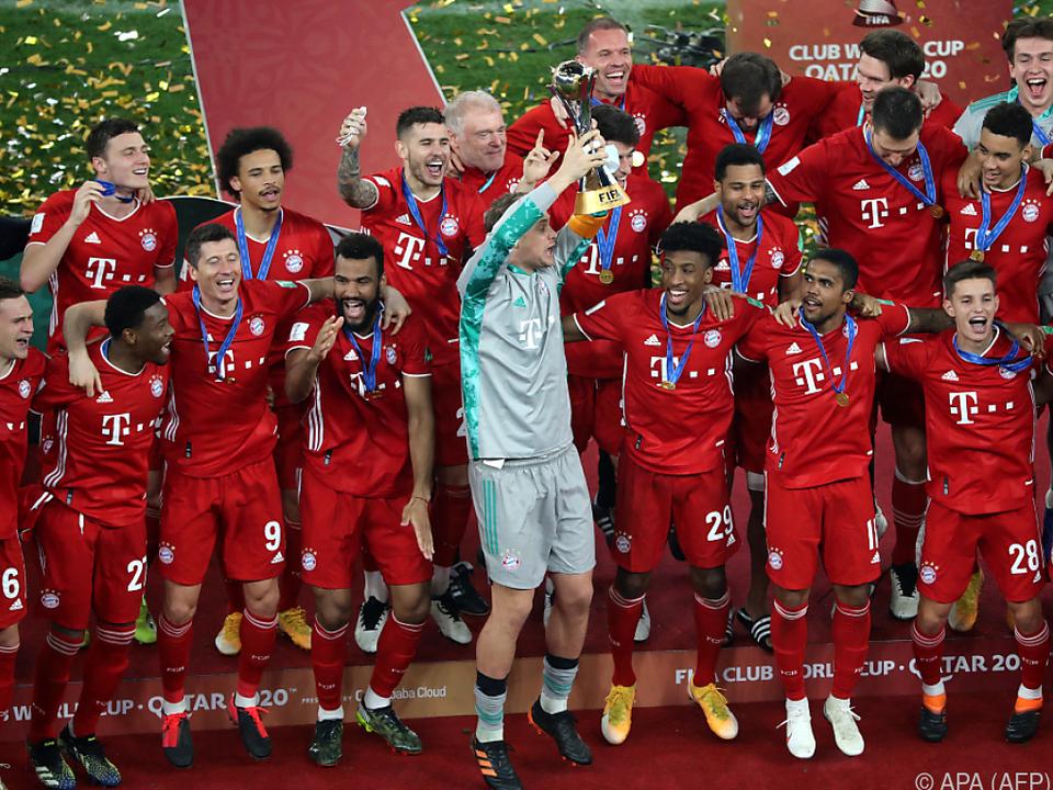 6 Titel in einem Jahr: Bayern München