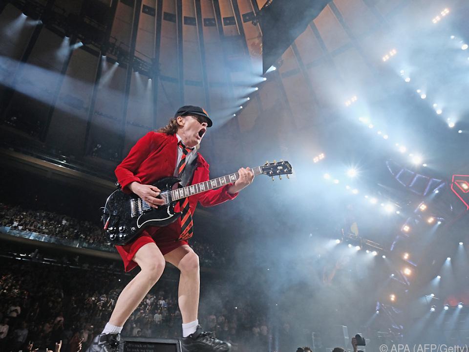 AC/DC-Gitarrist Angus Young vermisst die Auftritte