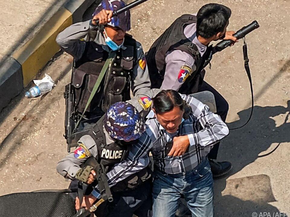 Äußerst brutales Vorgehen von Polizei und Militär