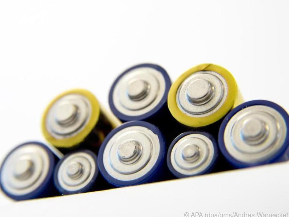 Nickel-Metallhydrid-Akkus finden sich vor allem in Geräten daheim