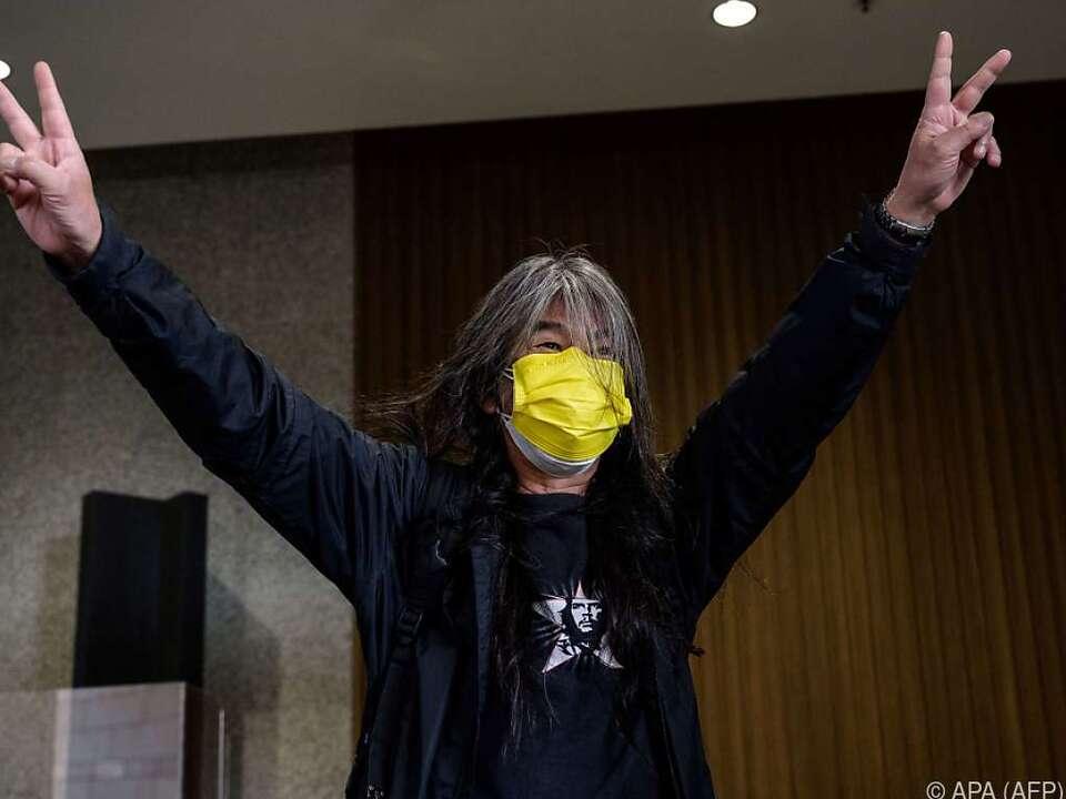 Aktivist Leung Kwok-hung soll unter den Beschuldigten sein